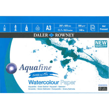 Load image into Gallery viewer, Aquafine Smooth Watercolour Pad