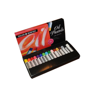 Artists' Oil Pastels - Set of 16