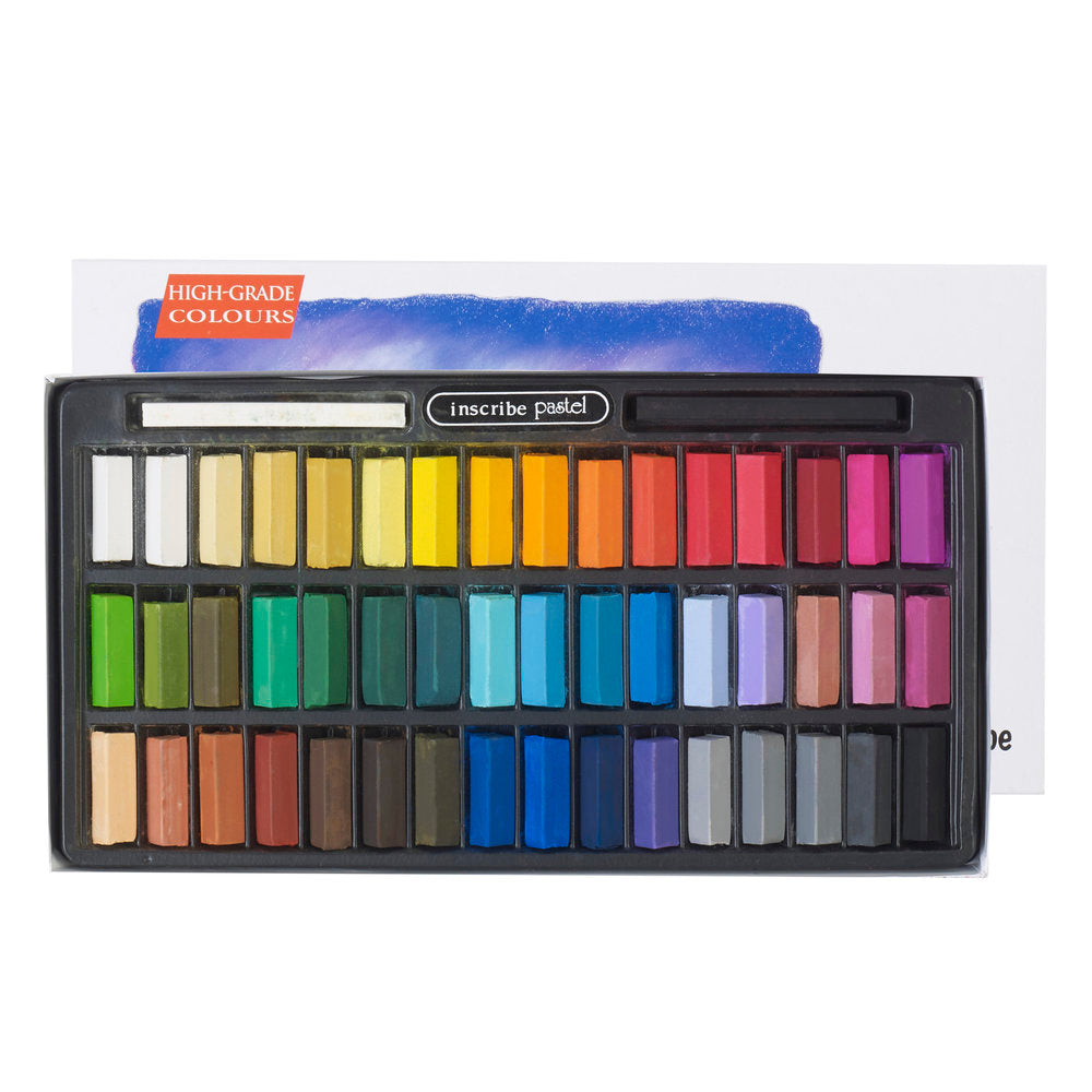 Inscribe Gallery Soft Pastel Set - 48