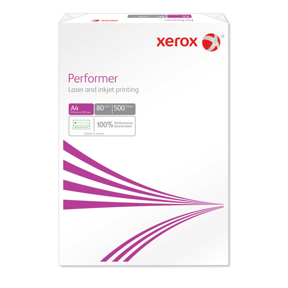 Xerox Performer A4 80gsm Copier Paper - Single Ream