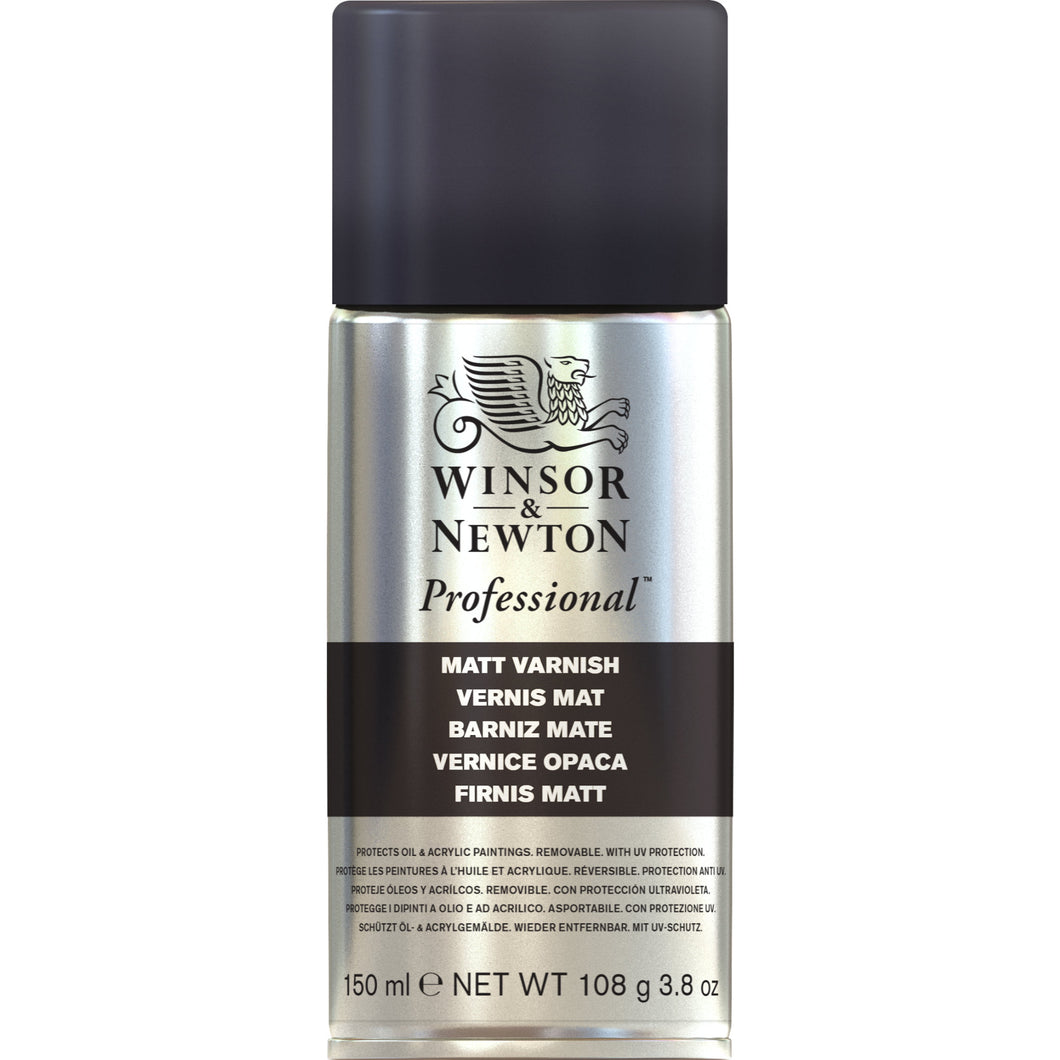 W&N Professional Matt Varnish Spray 150ml