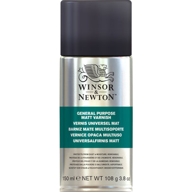 W&N All Purpose Matt Varnish Spray 150ml