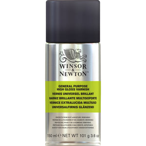W&N All Purpose High Gloss Varnish Spray 150ml