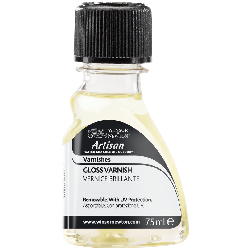 W&N Artisan Water Mixable Oil Gloss Varnish 75ml