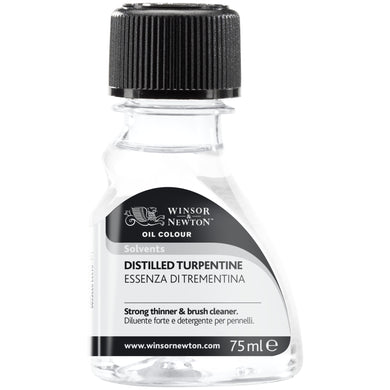 W&N Distilled Turpentine 75ml