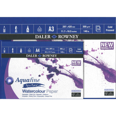 Aquafine Texture Watercolour Pad