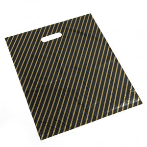 Black/Gold Boutique Carrier Bags