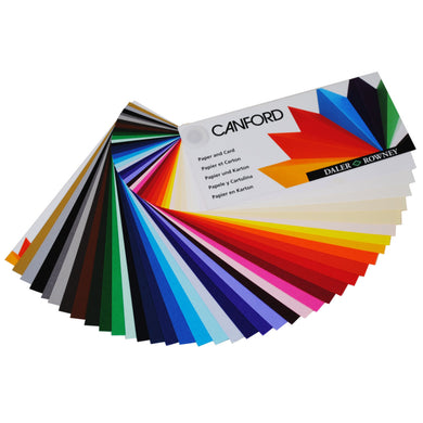Canford Coloured Card A1 300gsm