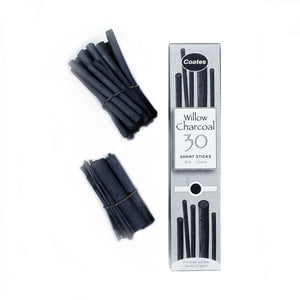 Willow Charcoal - Short Stick Pack