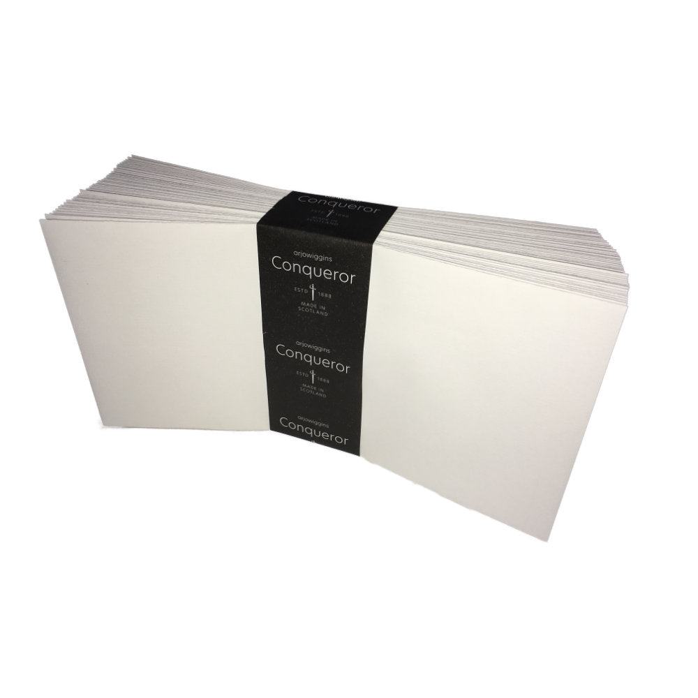 Conqueror Envelopes DL High White Laid Pack 50