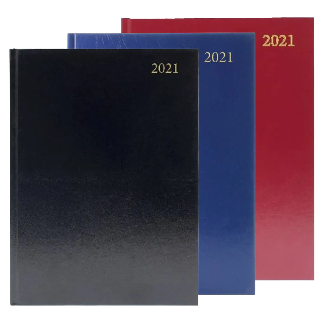 2021 Diary A4 Day Per Page