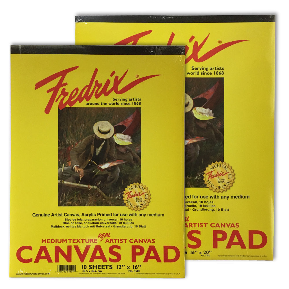Fredrix Canvas Pad
