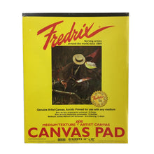Load image into Gallery viewer, Fredrix Canvas Pad