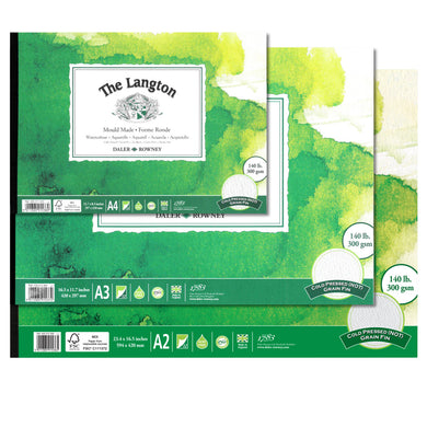 Langton Cold Pressed (NOT) Watercolour Pad