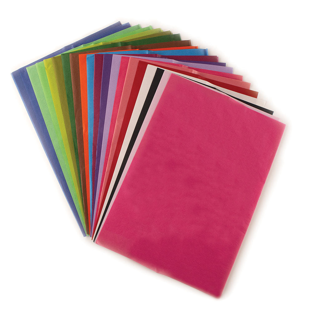 Coloured Tissue Paper -10 Sheets 70x50cm