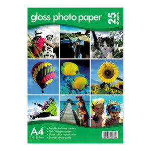 A4 Gloss Photo Paper 160gsm