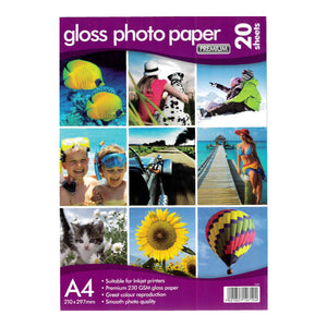 A4 Gloss Photo Paper 230gsm