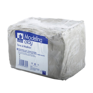 Fine White Modelling Clay - 5kg