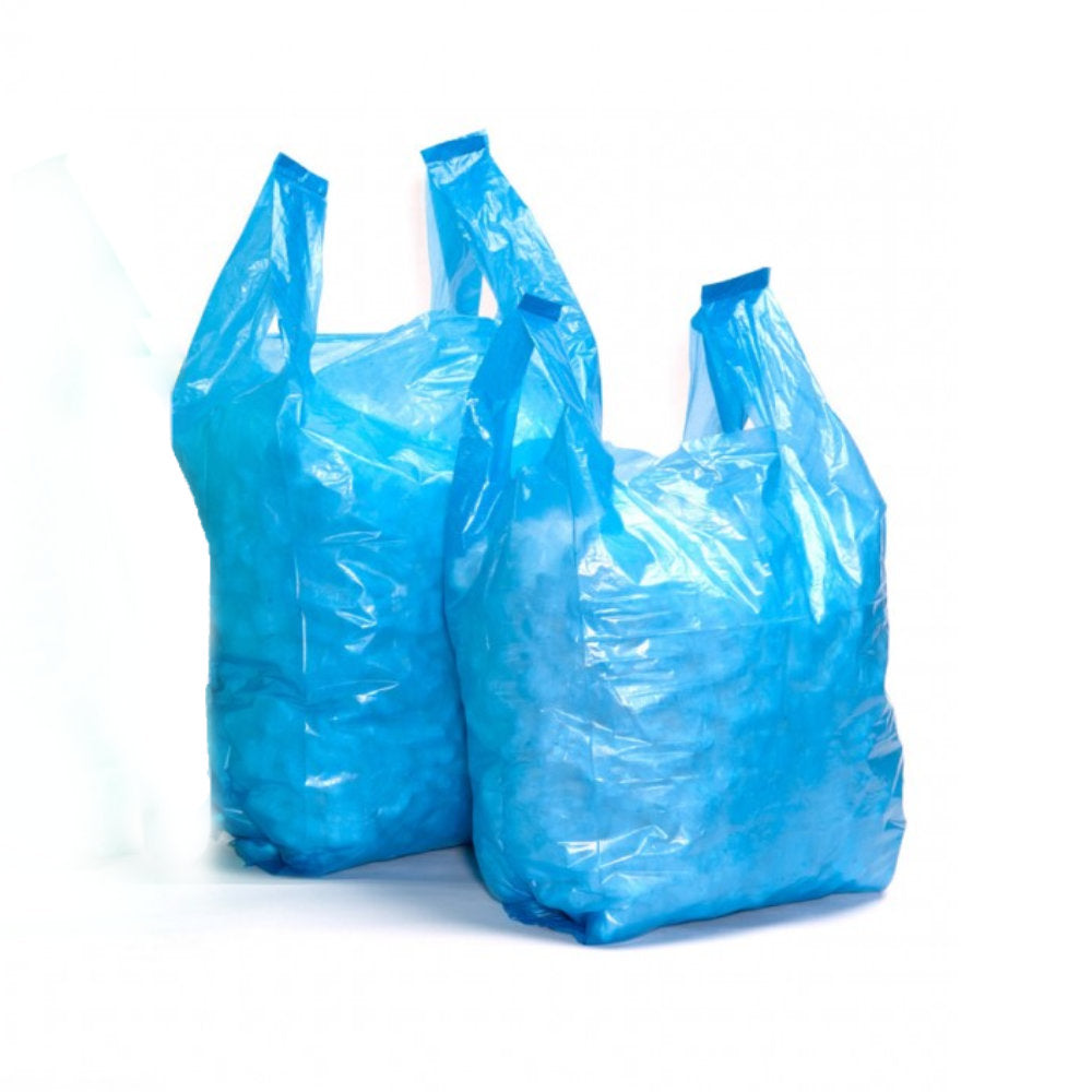 Sapphire 21 Recycled Vest Carrier Bags