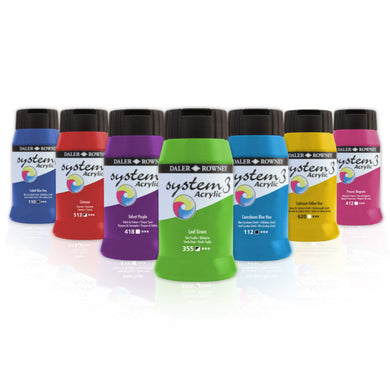 System 3 Original Acrylic Colour 500ml