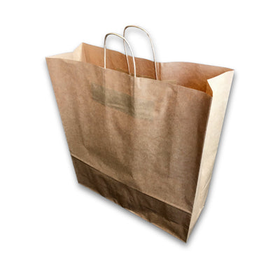 Twisted Handle Kraft Paper Bags Brown 18