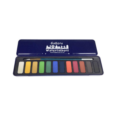 Watercolour Paint Set & Brush