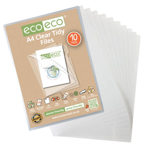 A4 Clear Tidy Files Pack 10