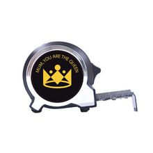 Load image into Gallery viewer, The Personalised Black Edition 5m-16ft Compact Tape Measure - For Her