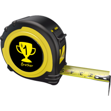 Load image into Gallery viewer, Personalised Professional 5m/16ft Tape Measure Gift - No1 Brother