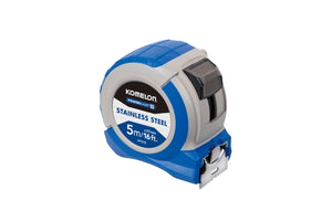 Komelon Powerblade 5m/16ft x 27mm Tape Measure IPT57E  Stainless Steel
