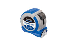Load image into Gallery viewer, Komelon Powerblade 8m/26ft x 27mm Tape Measure IPT87E  Stainless Steel