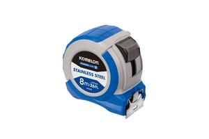 Komelon Powerblade 8m/26ft x 27mm Tape Measure IPT87E  Stainless Steel