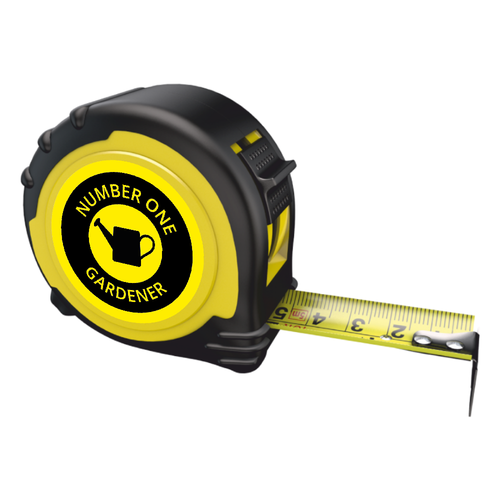 Personalised Professional Tape Measure Gift - 5m/16ft - No1 Gardener