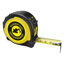 Load image into Gallery viewer, Personalised Professional Tape Measure Gift Idea - 5m/16ft - No1 Groundworker