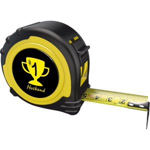 Personalised Professional 5m/16ft Tape Measure Gift - No1 Husband