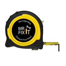 Load image into Gallery viewer, Personalised Professional 5m/16ft Tape Measure Gift Idea - Mr Fix It