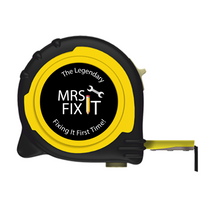 Load image into Gallery viewer, Personalised Professional 5m/16ft Tape Measure Gift Idea - Mrs Fix It