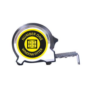 Personalised Black Edition 5m-16ft x 25mm Tape Measure - No1 Window Fitter