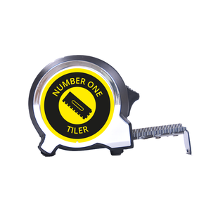 Personalised Black Edition 5m-16ft x 25mm Tape Measure - No1 Tiler