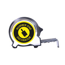 Load image into Gallery viewer, Personalised Black Edition 5m-16ft x 25mm Tape Measure - No1 Decorator