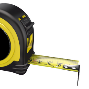 Personalised Professional 5m/16ft Tape Measure Gift - No1 Girlfriend