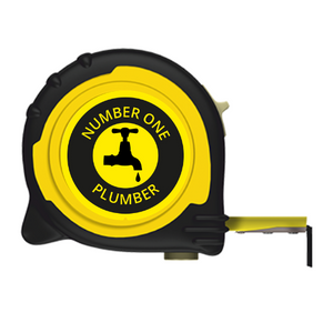 Personalised Professional Tape Measure Gift Idea - 5m/16ft - No1 Plumber