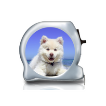 Load image into Gallery viewer, Personalised Dual Printed 5m-16ft Chrome Photo Tape Measure -  Tape Your Pet