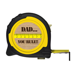Personalised Professional 5m/16ft Tape Measure Gift Idea - Dad You Rule
