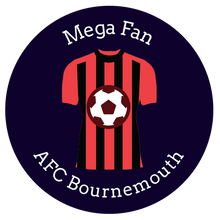 Load image into Gallery viewer, bournemouth, football themed gift ideas, football gifts, personalised football gifts, personalised football team themed presents, funky tape measure, personalised tape measure, personalised gift ideas, gifts for football fans, football themed gifts