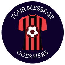 Load image into Gallery viewer, football themed gift ideas, football gifts, personalised football gifts, personalised football team themed presents, funky tape measure, personalised tape measure, personalised gift ideas, gifts for football fans, football themed gifts, bournemouth afc