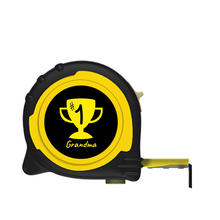 Load image into Gallery viewer, Personalised Professional 5m/16ft Tape Measure Gift - No1 Grandma