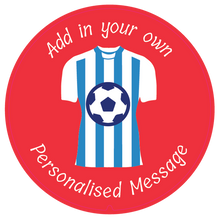Load image into Gallery viewer, Personalised Dual Printed 5m-16ft Chrome Football Tape Measure - Huddersfield FC