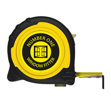 Load image into Gallery viewer, Personalised Professional Tape Measure Gift Idea - 5m/16ft - No1 Window Fitter