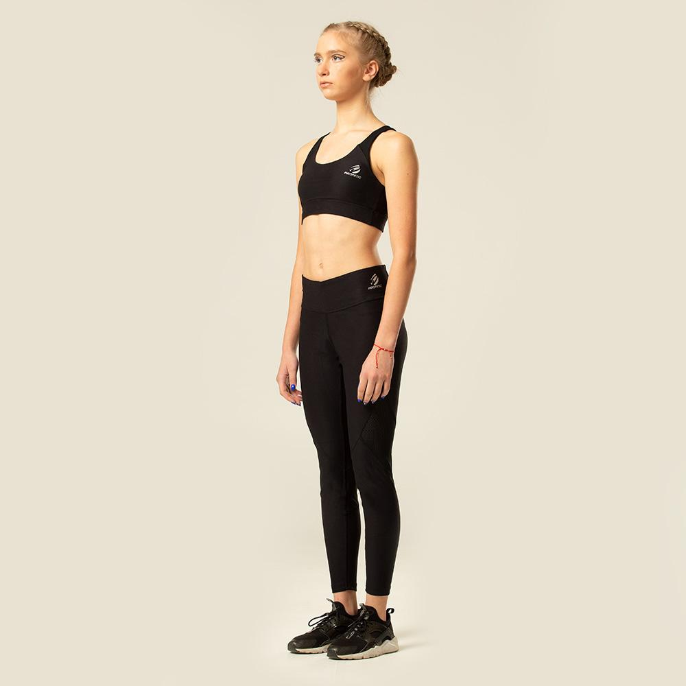 Black Acer Tights | pironetic.com | Pironetic - an athleisure brand for active women | sportswear, activewear - leggings, wedges, tights, pants, jackets, t-shirts, tops, tanks, sports bras